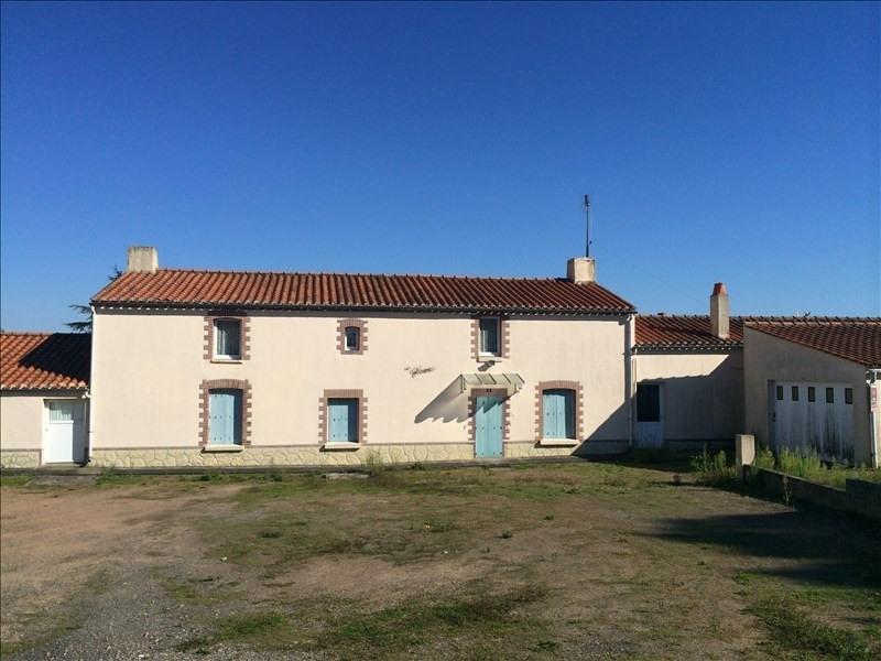 Sale house / villa St vincent sur jard 247500€ - Picture 2