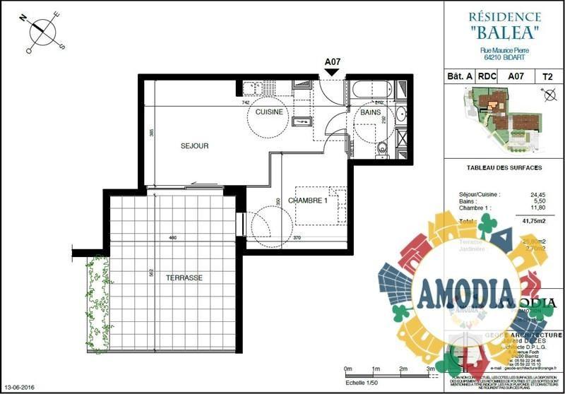 Vente appartement Bidart 229000€ - Photo 2