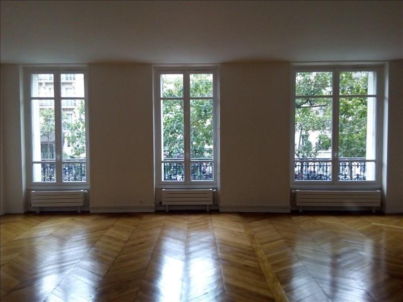 Rental apartment Paris 17ème 3800€ CC - Picture 2