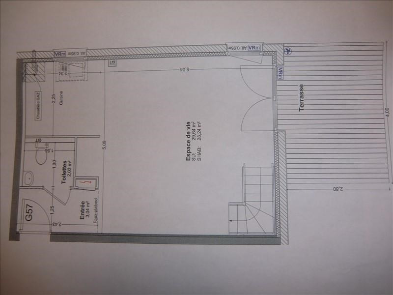 Vente appartement Mery 259000€ - Photo 3
