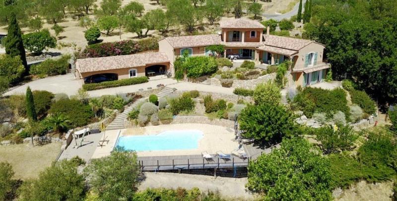 Vente de prestige maison / villa Seillans 750000€ - Photo 1