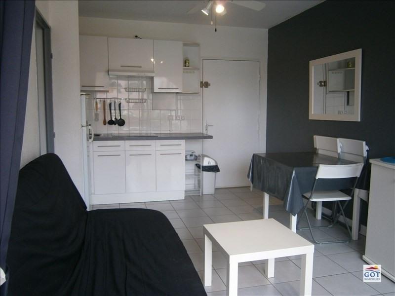 Locação apartamento Le barcares 470€ CC - Fotografia 2