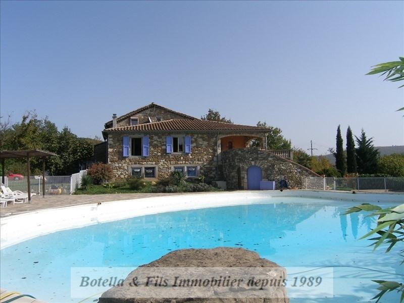 Deluxe sale house / villa Les vans 630000€ - Picture 1