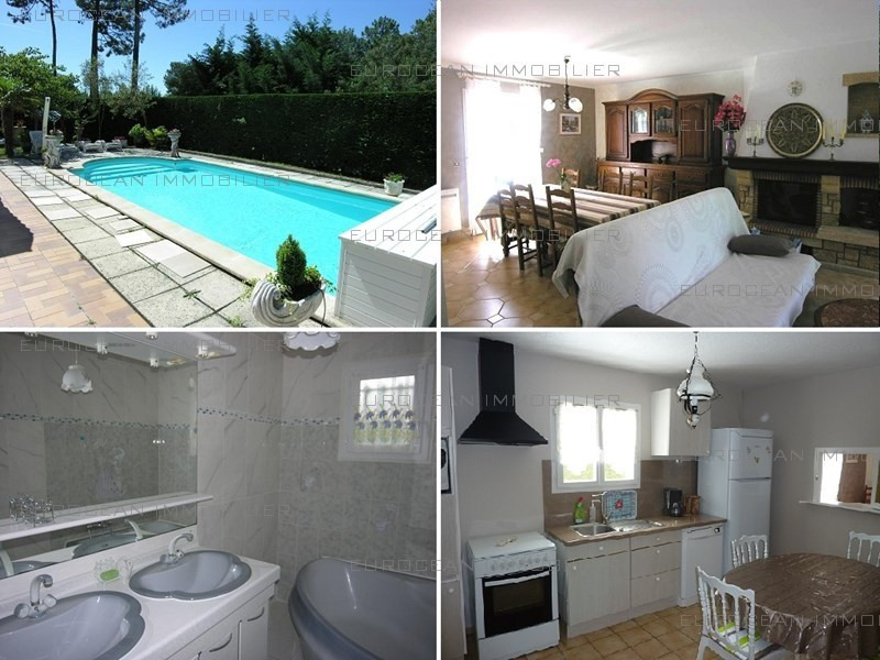 Location vacances maison / villa Lacanau-ocean 680€ - Photo 1