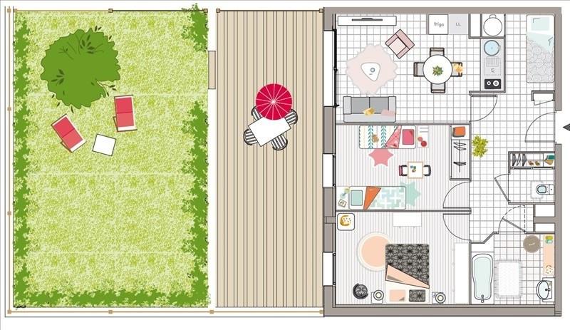 Sale apartment Fort mahon plage 231000€ - Picture 2