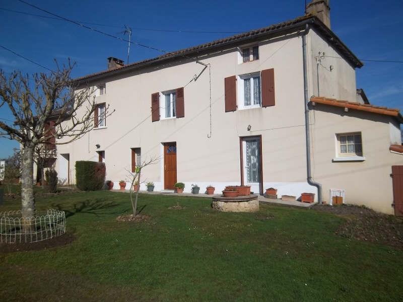 Vente maison / villa Queaux 138000€ - Photo 2