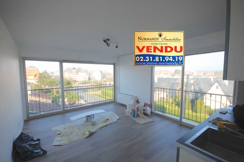 Vente appartement Villers sur mer 98000€ - Photo 1