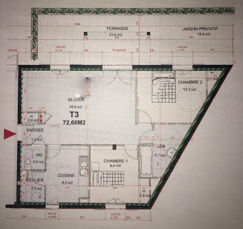 Investment property apartment Crémieu 175000€ - Picture 9
