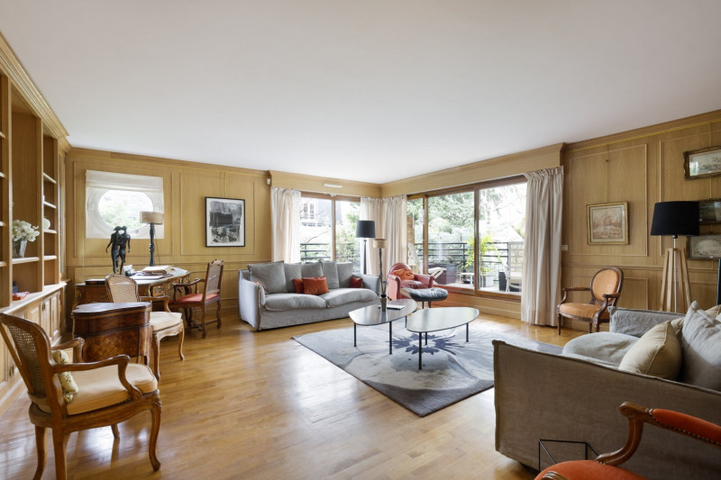 Deluxe sale apartment Paris 16ème 1950000€ - Picture 2