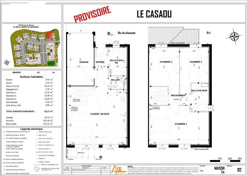 Vente maison / villa St andre de seignanx 230000€ - Photo 4