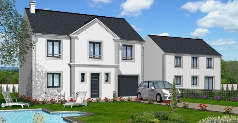 Maison  6 pièces + Terrain 300 m² Ballancourt-sur-Essonne par BATICONFORT