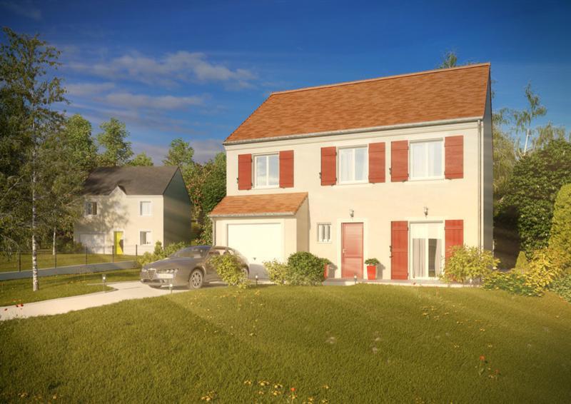 Maison  6 pièces + Terrain 1000 m² Villeneuve-les-Bordes par MAISONS PIERRE