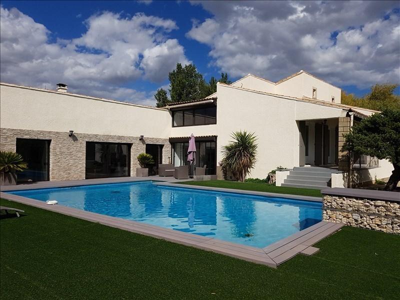 Revenda residencial de prestígio casa Courthezon 655000€ - Fotografia 1