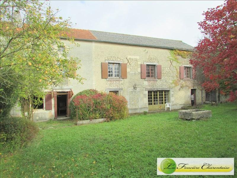 Vente maison / villa Aigre 168 000€ - Photo 1