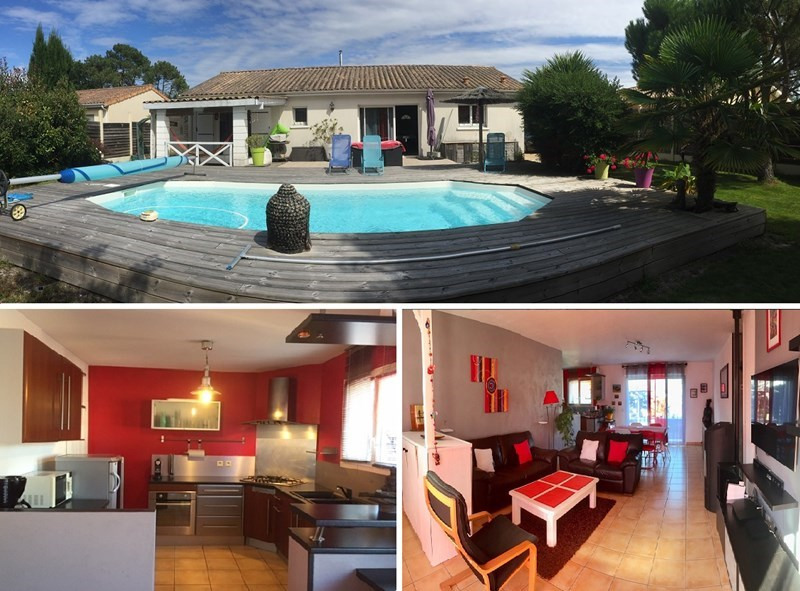 Vacation rental house / villa Lacanau 863€ - Picture 1