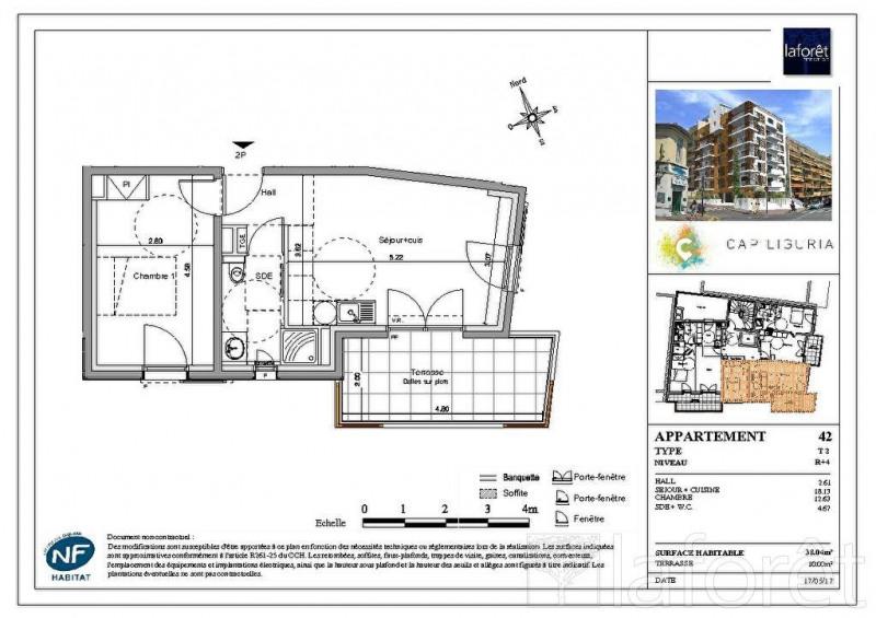 Vente appartement Carnoles 290000€ - Photo 1