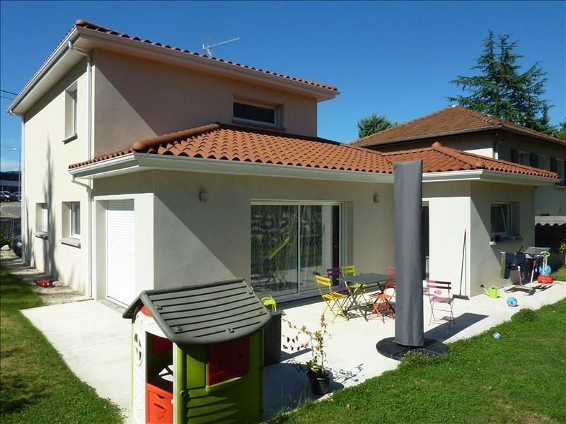 Deluxe sale house / villa Champagne au mont d or 555000€ - Picture 1