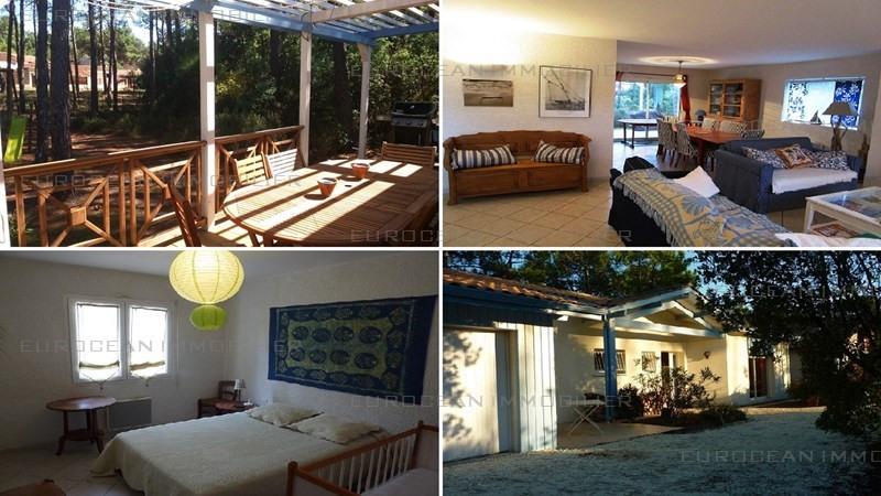 Vacation rental house / villa Lacanau ocean 980€ - Picture 1