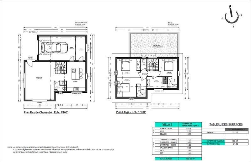Sale house / villa Thyez 343792€ - Picture 2