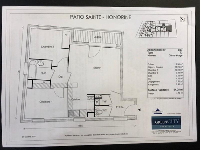 Rental apartment Conflans ste honorine 865€ CC - Picture 2