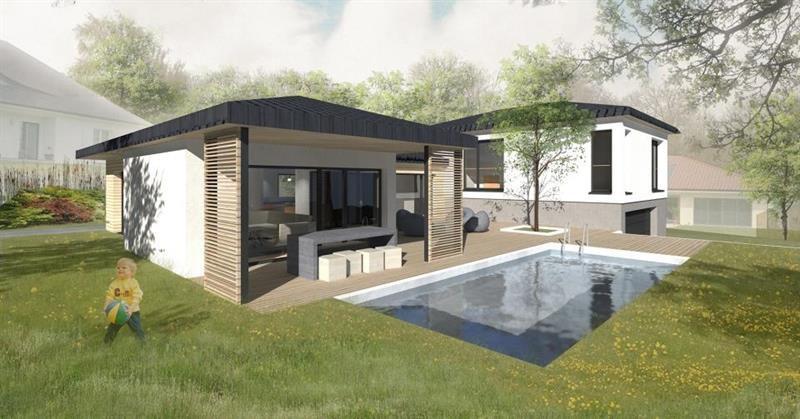 """Modèle de maison  """"Maison sur-mesure avec piscine"""" à partir de 6 pièces Meurthe-et-Moselle par INNOV'HABITAT"""