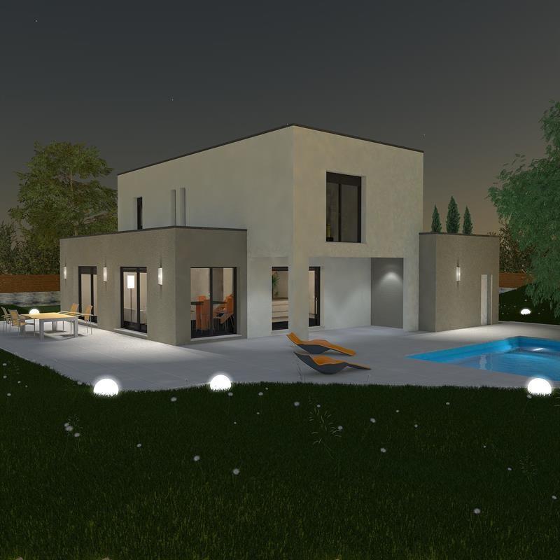 Maison  5 pièces + Terrain 1000 m² Saint Cyr Au Mont d'Or (69450) par LES MAISONS FRALENE