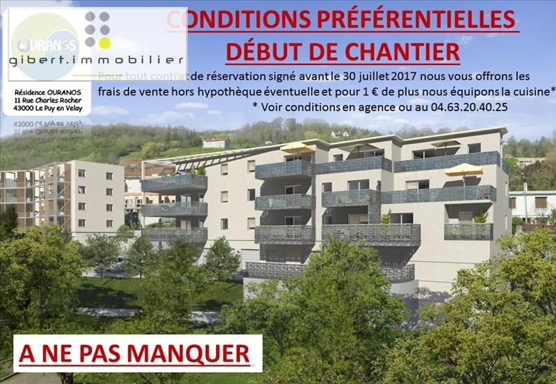 Sale apartment Le puy en velay 179 400€ - Picture 1