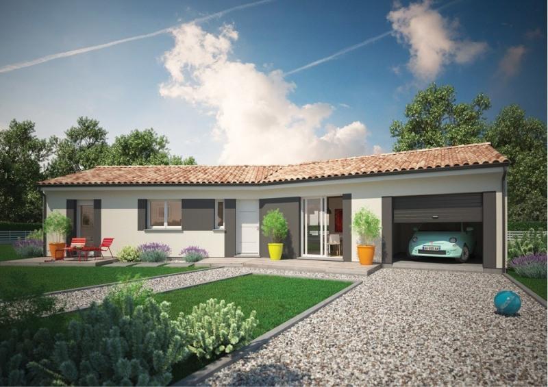 Maison  3 pièces + Terrain 2000 m² Tabanac par MCA - LANGOIRAN
