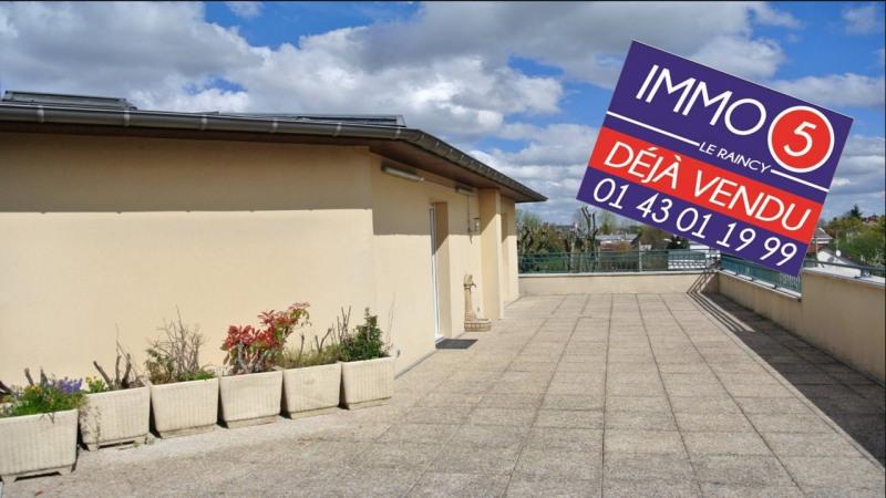 Sale apartment Le raincy 430000€ - Picture 1
