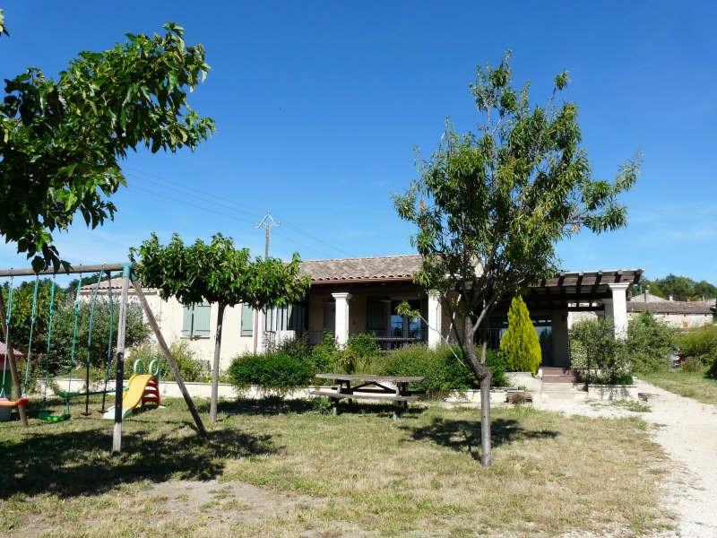 Vente maison / villa Lussan 219000€ - Photo 1