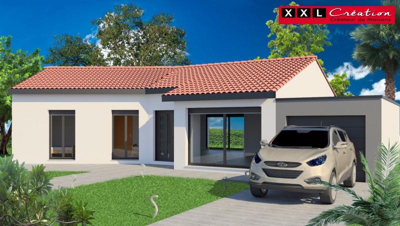 Maison  4 pièces + Terrain 351 m² Pia par XXL CREATION