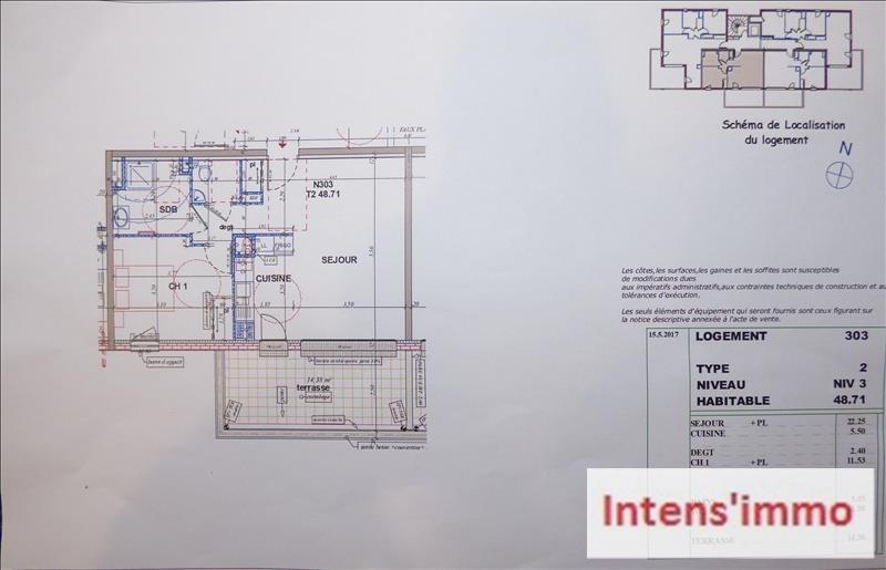 Vente appartement Pizancon 155000€ - Photo 3