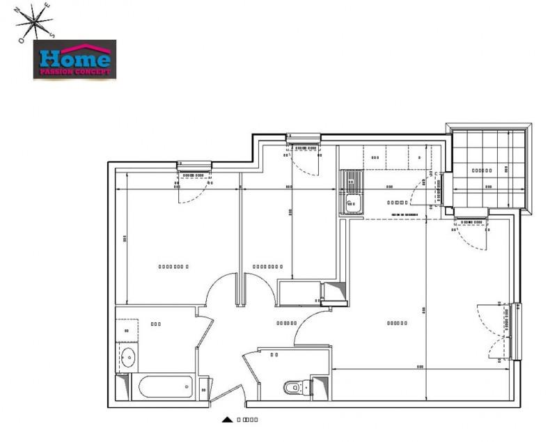 Sale apartment Rueil malmaison 425000€ - Picture 2
