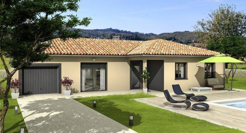 Maison  4 pièces + Terrain 481 m² Blyes par Villas Club Pusignan