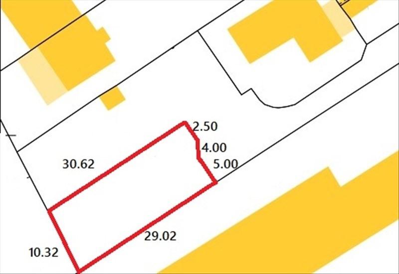 Vente terrain Bezons 210000€ - Photo 1