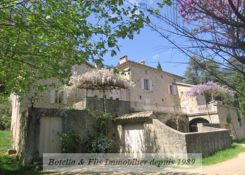 Vente de prestige maison / villa Aubenas 698000€ - Photo 1