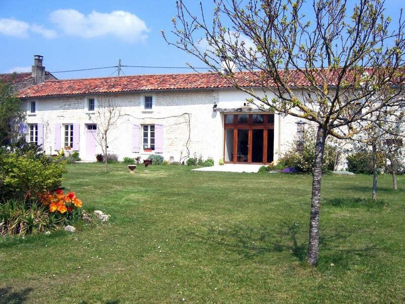Vente maison / villa Beauvais sur matha 370000€ - Photo 1
