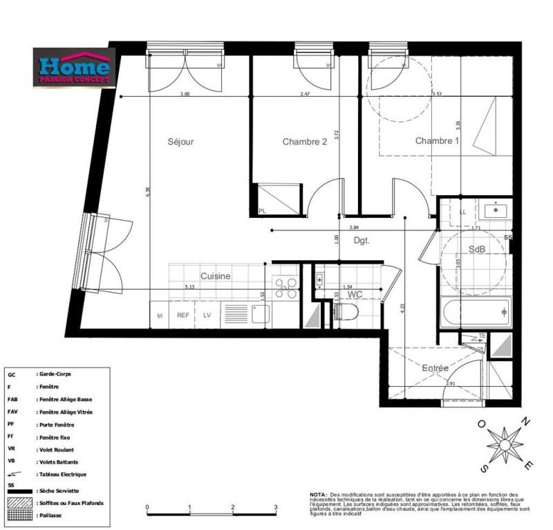 Sale apartment Rueil malmaison 412000€ - Picture 1