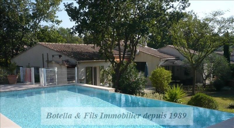Sale house / villa Goudargues 419000€ - Picture 1