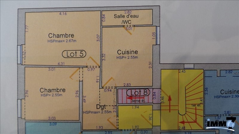 Investment property building La ferte sous jouarre 430 000€ - Picture 4