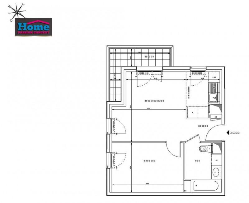 Sale apartment Rueil malmaison 308000€ - Picture 2