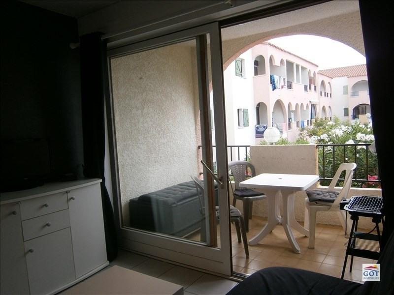 Locação apartamento Le barcares 470€ CC - Fotografia 4