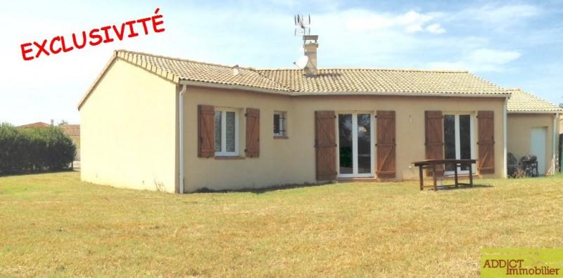 Vente maison / villa Secteur montastruc 229000€ - Photo 1