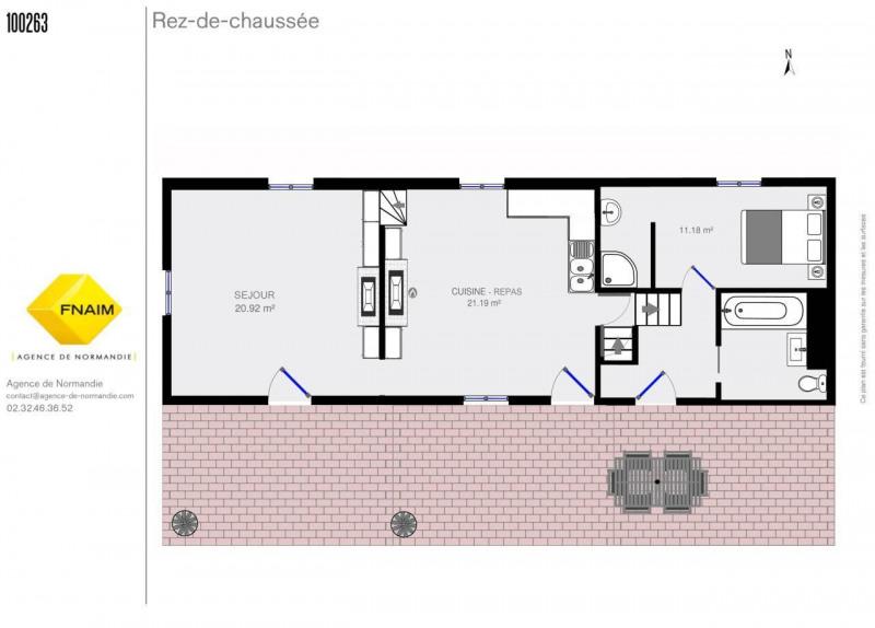 Vente maison / villa Montreuil-l'argille 95000€ - Photo 6