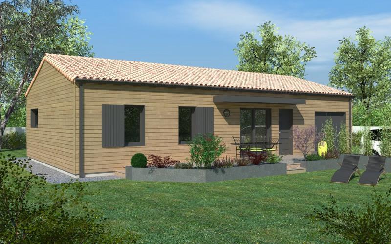 Maison  4 pièces + Terrain 400 m² Saint Symphorien par DELRIEU CONSTRUCTION