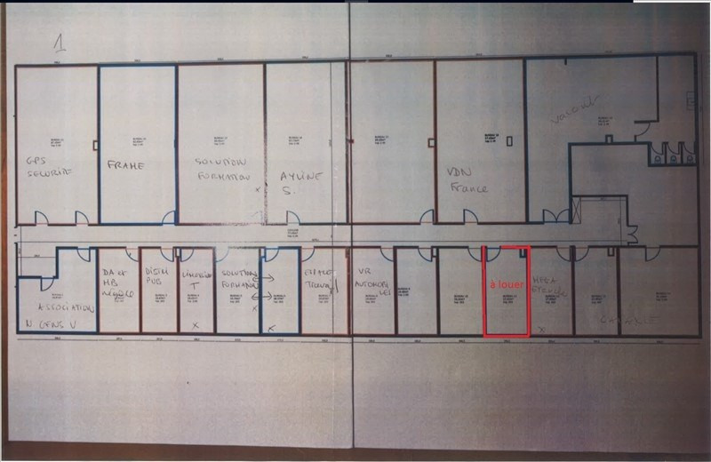 Rental empty room/storage St ouen 185€ HT/HC - Picture 4