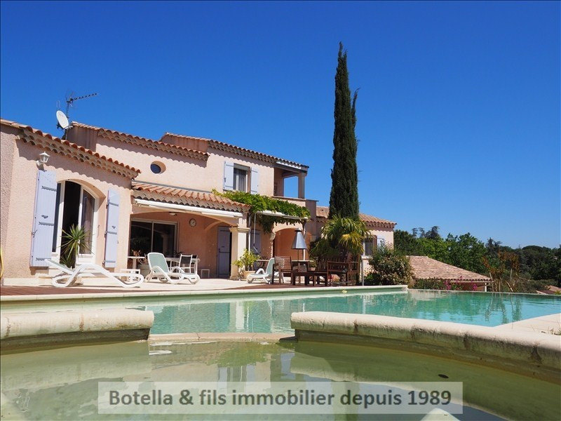 Vente de prestige maison / villa Goudargues 525 000€ - Photo 10