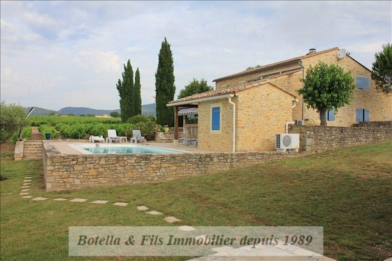Verkauf von luxusobjekt haus Barjac 695000€ - Fotografie 8