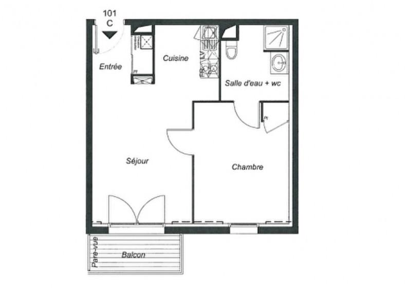 Sale apartment Pont l abbe 143100€ - Picture 5