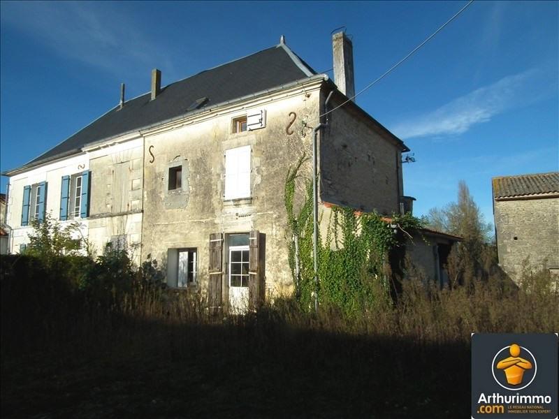 Sale house / villa Matha 81000€ - Picture 1
